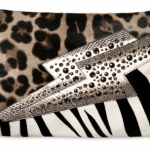 The Jimmy Choo Printed Pony Conti Clutch