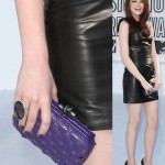 Emma Stone: A Touch of Purple