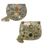 "Agate Inlaid ""Sajal"" Bags from India"