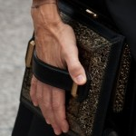 Sarah Jessica Parker Sports Some Seriously Square Clutch