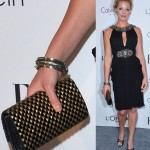 Katherine Heigl Wears a Studded Deepa Gurnani Clutch to a Star-Studded Event