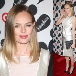 Kate Bosworth Carries Dainty Ribbon Clutch by Prabal Gurung