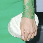 Nina Dobrev's Rounded Clutch at the 2012 People's Choice Awards