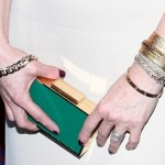 Green with Envy: Julianne Moore's Two Toned Lanvin Minaudiere