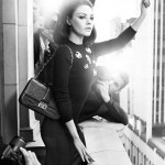 Mila Kunis' Glams Up in Vintage French Style for Miss Dior's Handbag Campaign