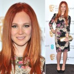 BAFTA Rising Star Nominee Juno Temple: Stylish in her D&G Dress and Louboutin Clutch